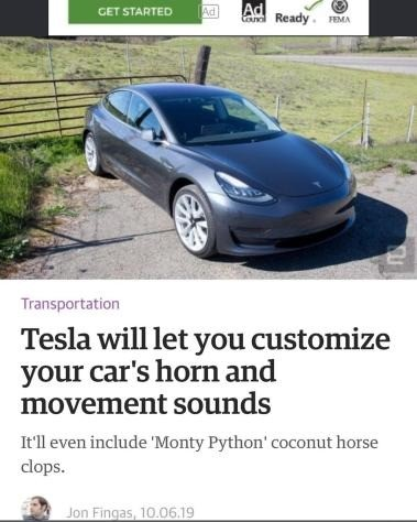 Tesla. .. one day. i will ride one of these and make my horn sound oh nothing will happen to me. as i have my racial trait of having immunity against law for saying . NIA