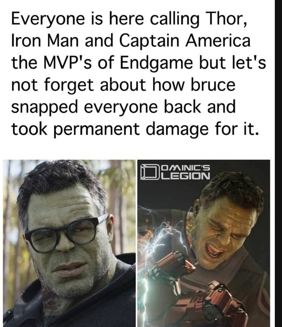 testy thundering future Buffalo. .. Is it permanent? Hulk even in the MCU heals quick and it was just a overcharge of gamma radiation, think it just wrecked him for a lil while.