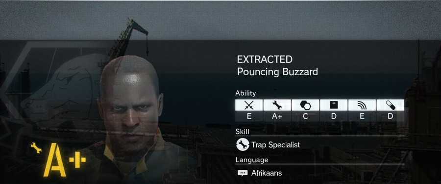 That's a Job Now?. I saw this and thought of you folks.. EXTRACTED Pouncing Buzzard my lity Skill ill) Trap Specialist Language E Afrikaans. If only I could get paid for it...