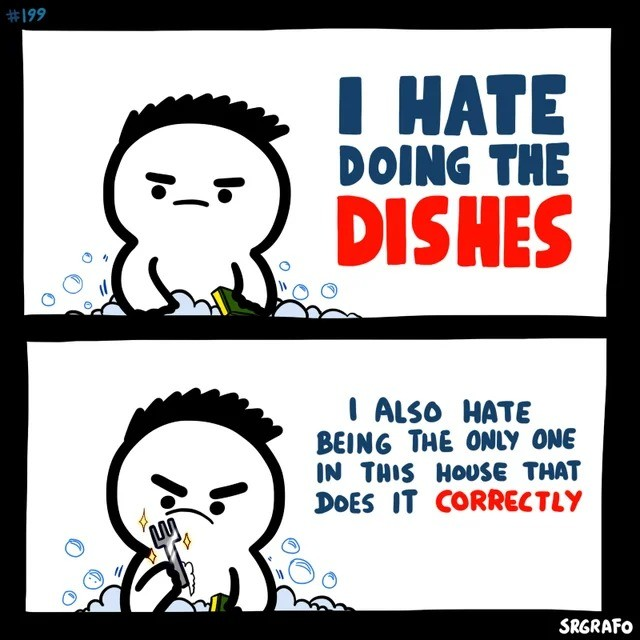 that's always the worst. .. Omg. Im not only one? My parents are at cleaning them.
