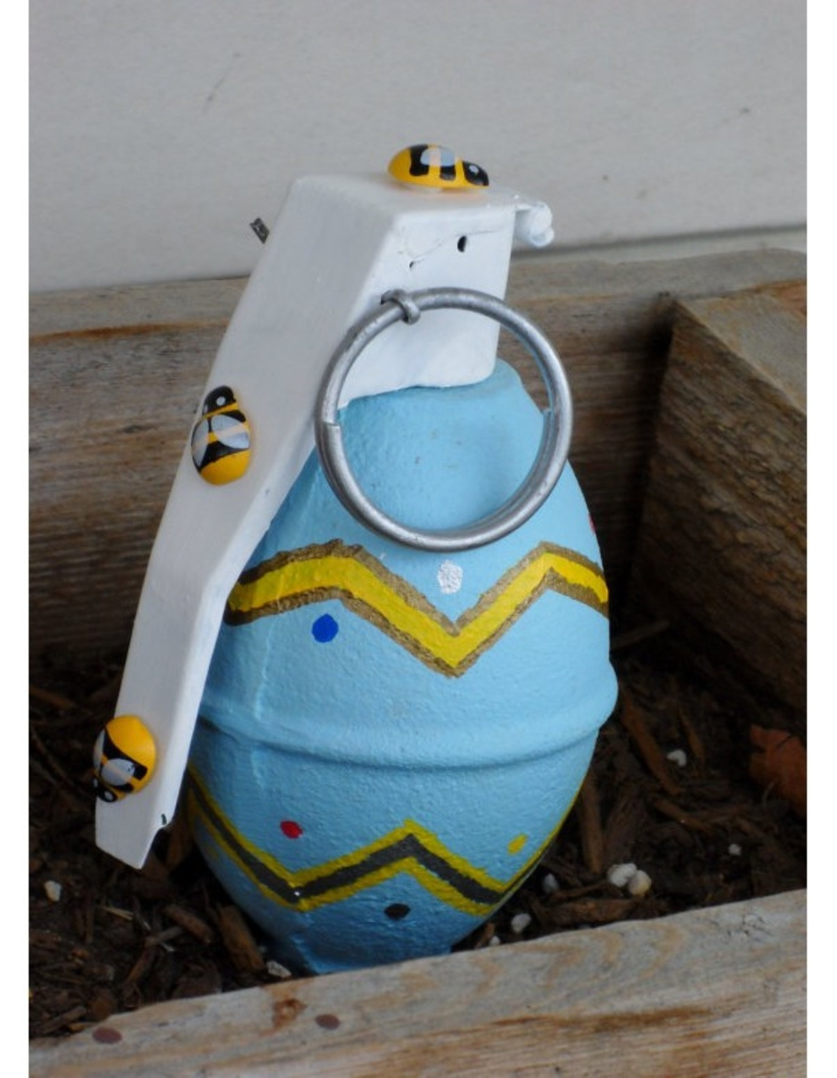 That's No Easter Egg, It's a LIVE Grenade Found At Fairground. I wish I was making this up but it is definitely confirmed. The funniest part is that this stupid