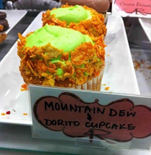 The desert of nerds everywhere!. I wouldn't eat this... I eat a ton of weird and I still wouldn't eat that would totally at least try it.