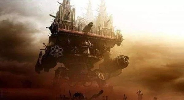 The design for the new Notre-Dame. .. I see a few too many spikes on that Titan, Brother... Kuncern