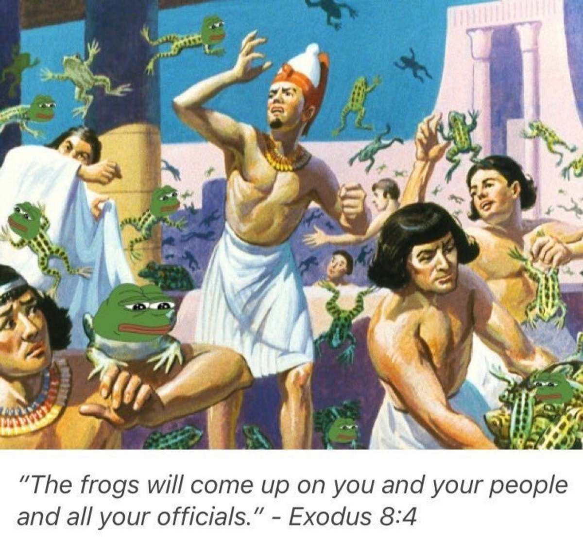 The frogs. join list: Seekandyouwillfind (122 subs)Mention History.. Lord Farquaad is so done with this .