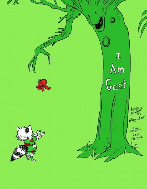 the giving groot. .. No, WE are Groot.