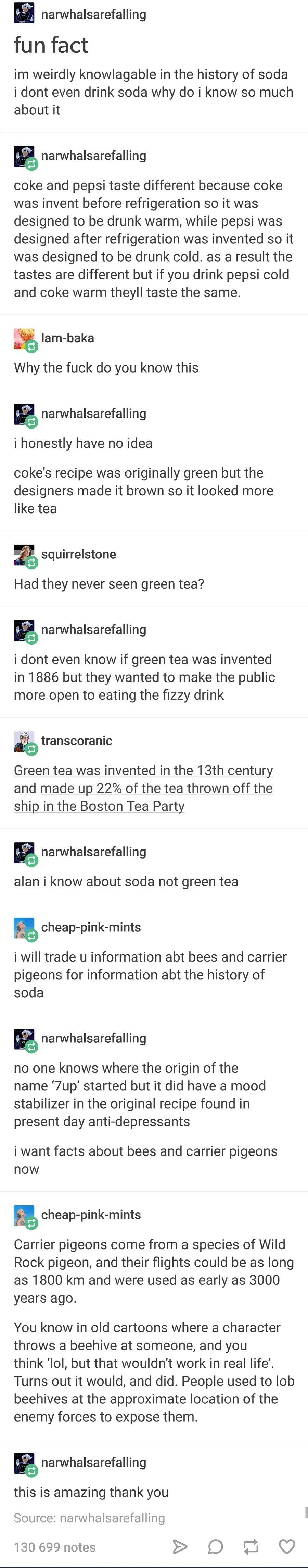 The history of soda. join list: AwesomeStuff (581 subs)Mention History.. The barter system returns