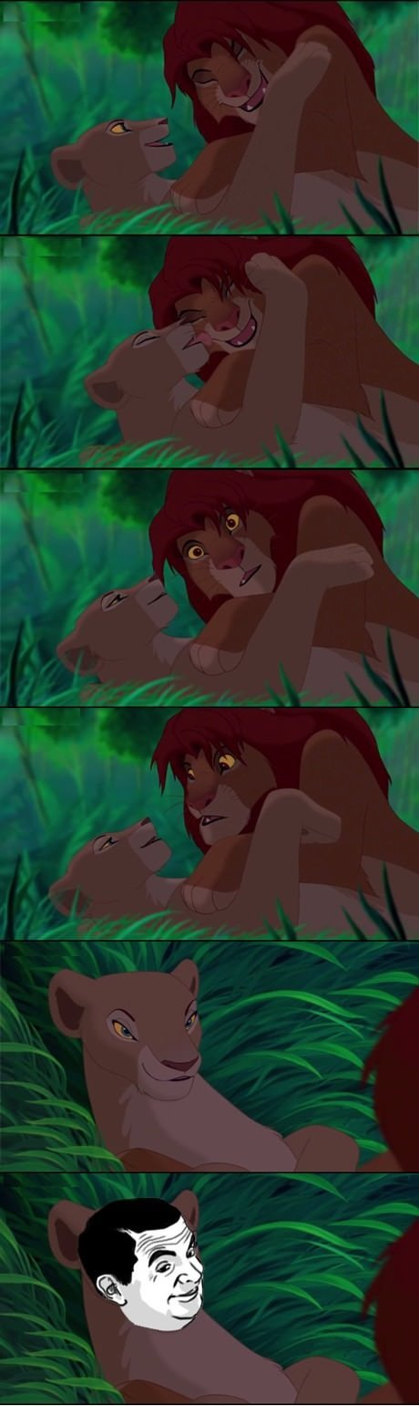 The Lion King. Childhood ANNIHILATED... SAY I'M THE KING, BITCH. SAY IT.