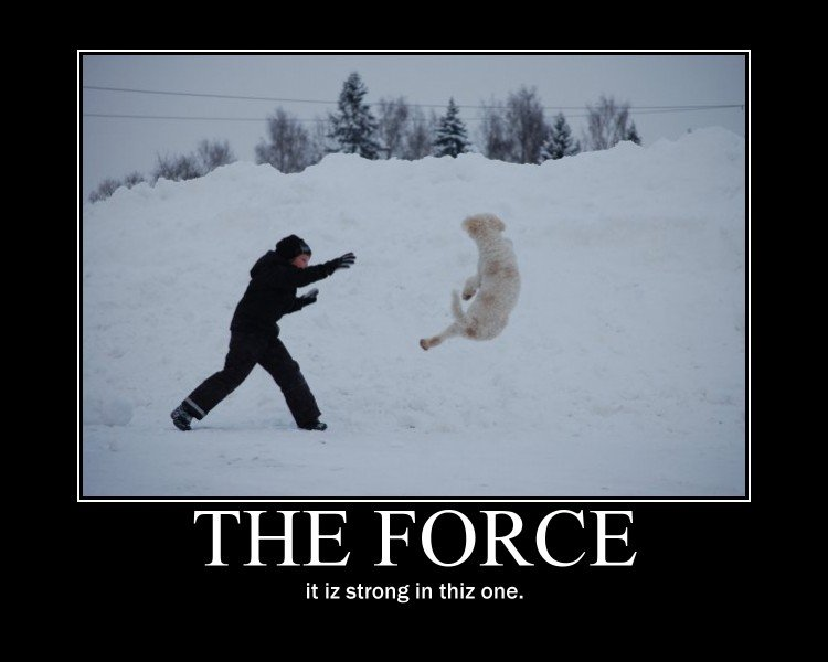 "The force. . ltot) D[ ( llolol it F. strong in mi: one.. ima thumb up, why ""iz"" and ""thiz""????/?///? /???"