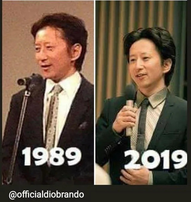 this man does not age. .. this benjamin button ass aged backwardsComment edited at .