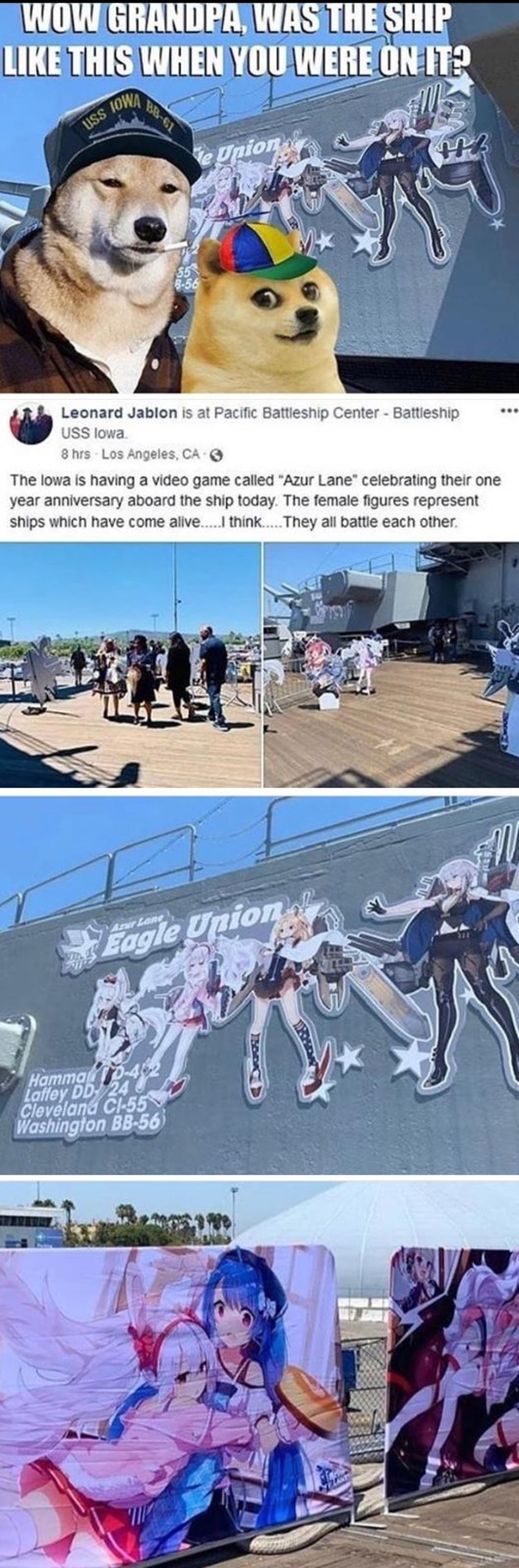 This means war again Japan. .. Recruiter's marketing strategy to hire more weebs. Do you guys understand what this mean? Weeb will protect these ships with their life as if that they all thei