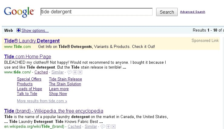 Tide SEO. Go ahead and Google it. It won't be this, but it'll be some user's comment and likely a negative review..
