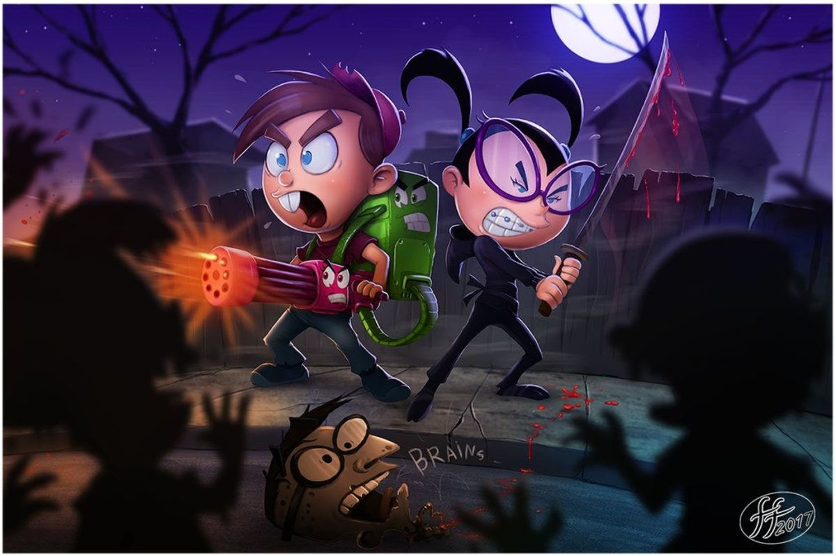 Timmy and Tootie, Zombie Slayers. .