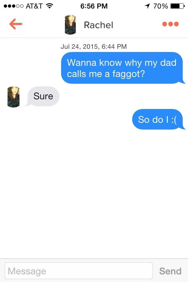 how to start a tinder conversation