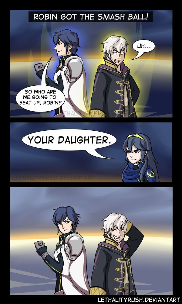 Too bad he's not in smash. Fire Emblem Awakening is best game. ROBIN GOT THE SMASH BALL! SD WHD ARE WE TU BEAT HF', I YOUR DAUGHTER. N, ithit. ) DEVANTART