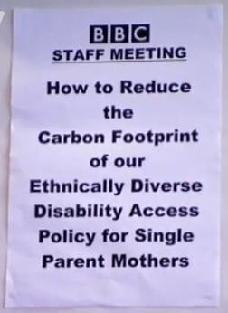 Top Gear staff meeting. desc. Haw to Reduce the carbon Footprint of our Ethnically Annual Pulley for Single Parent '. don't worry bbc jim will fix it for you