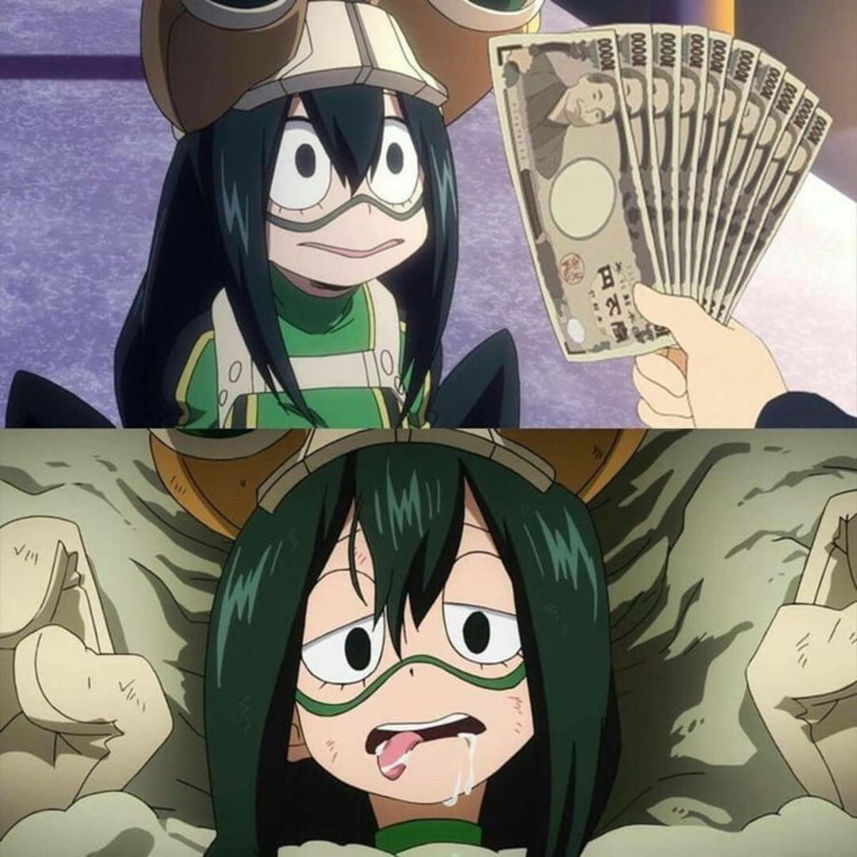 Tsuyu-chan Finds A Side Job. .. no lewding the frog.