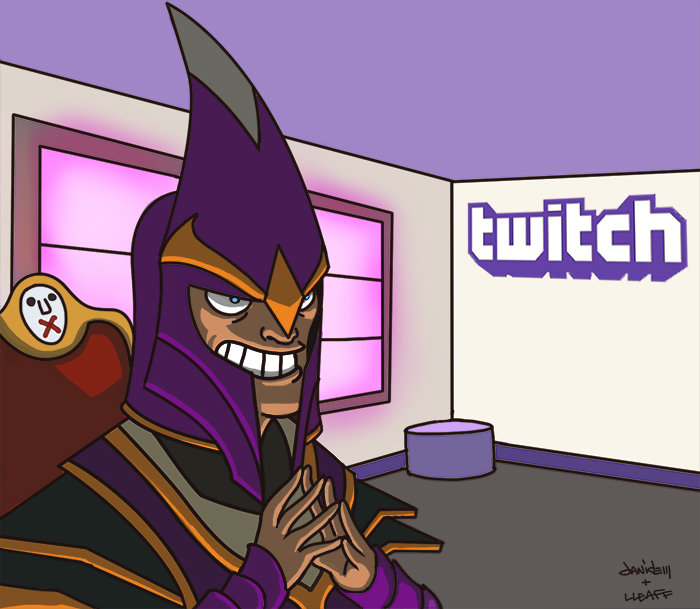 Twitch right now. for those who dont get it http://www(dot)cnet(dot)com/news/twitch-to-mute-copyrighted-music-in-video-on-demand/ also the man in the image is s