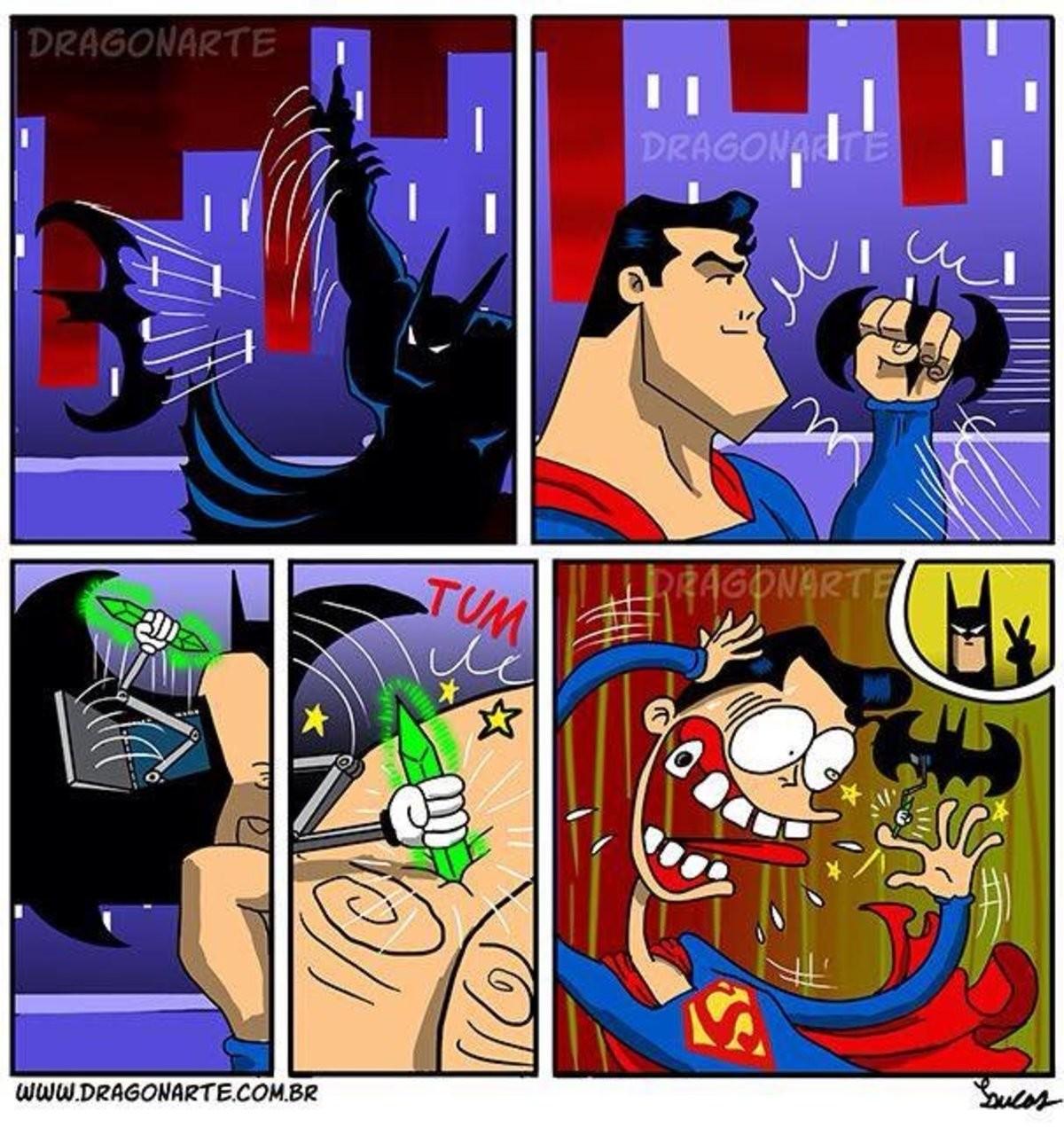 U cheeky kont. .. The ol' spicy batarang