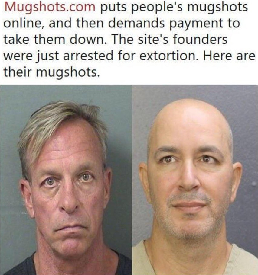 """""""Ugly Mugs"""". >Thomas Keesee, left, and Sahar Sarid are among four people named in a California arrest warrant >https://www.chicagotribune.com/business/ct-"""