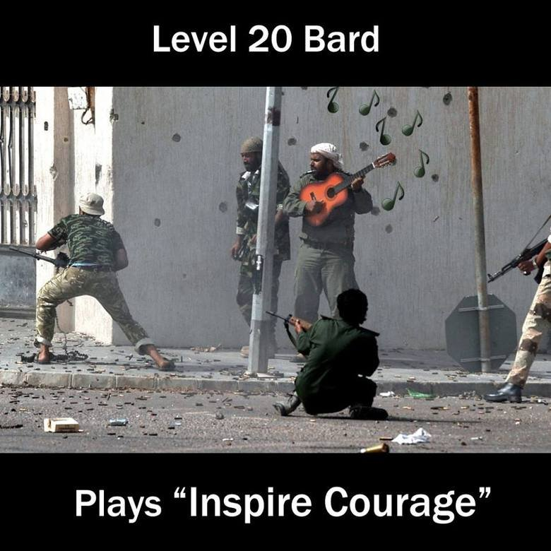 """(untitled). . Level [j, telli,"""" Plays """"Inspire Courage"""""""