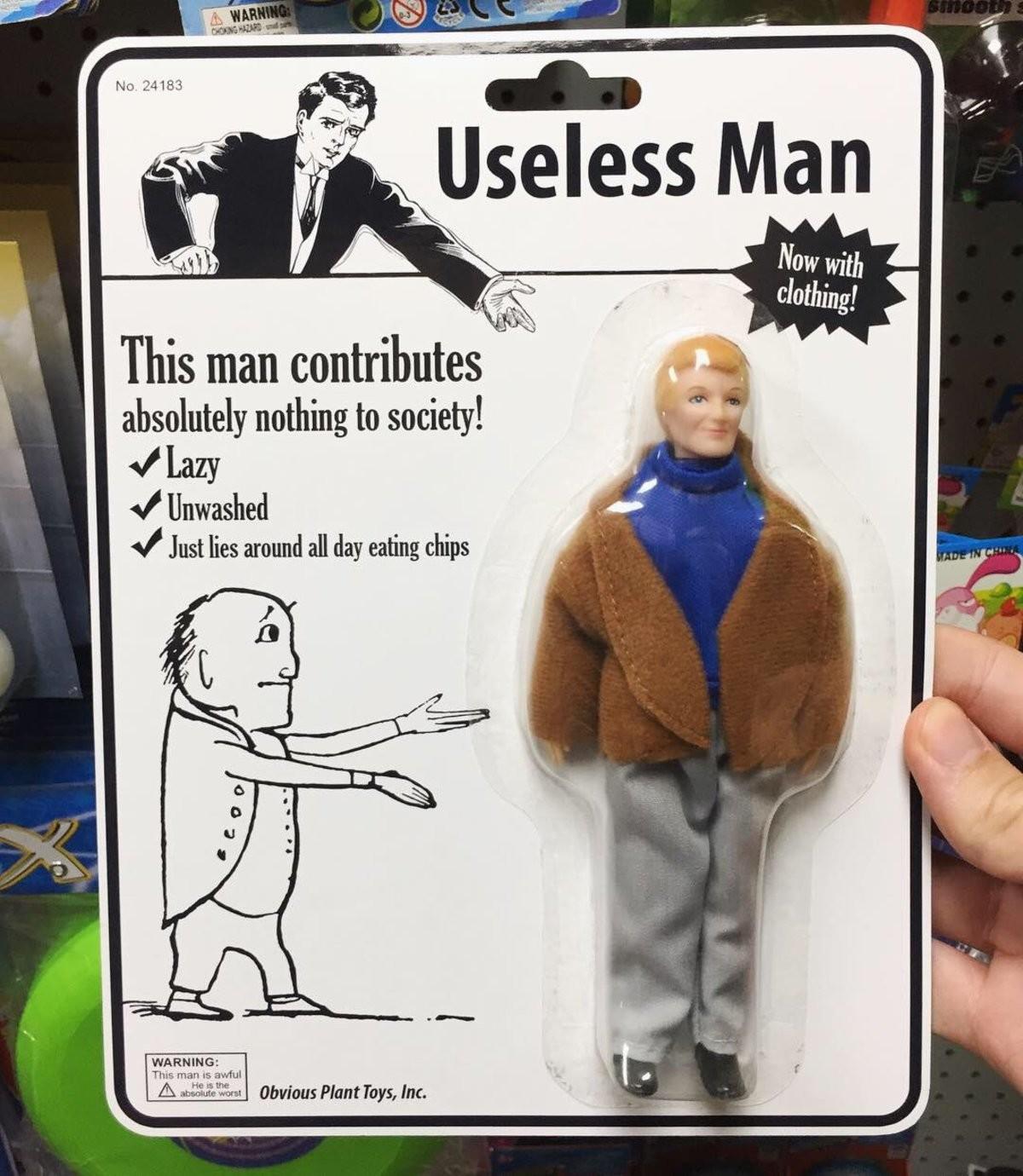 useless. .. A figure based off me?