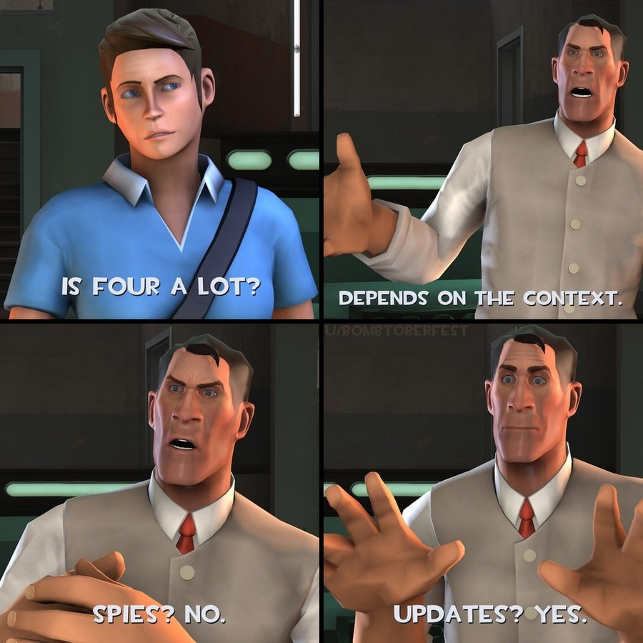 valve please. .. Whenever I see FemScout I just get conniptions. It's not even the fact that she's usually the token sex appeal character in some TF2 animations or that she's us