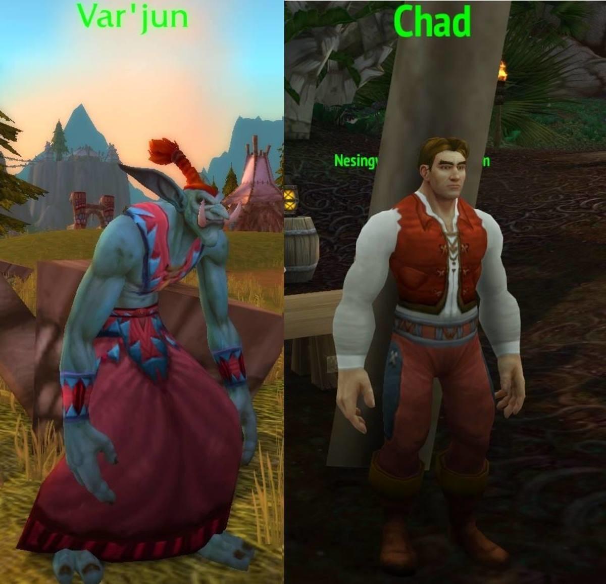 Vaysuso Ryititr Avoc. .. The Horde Var'jun vs the Chad Alliance