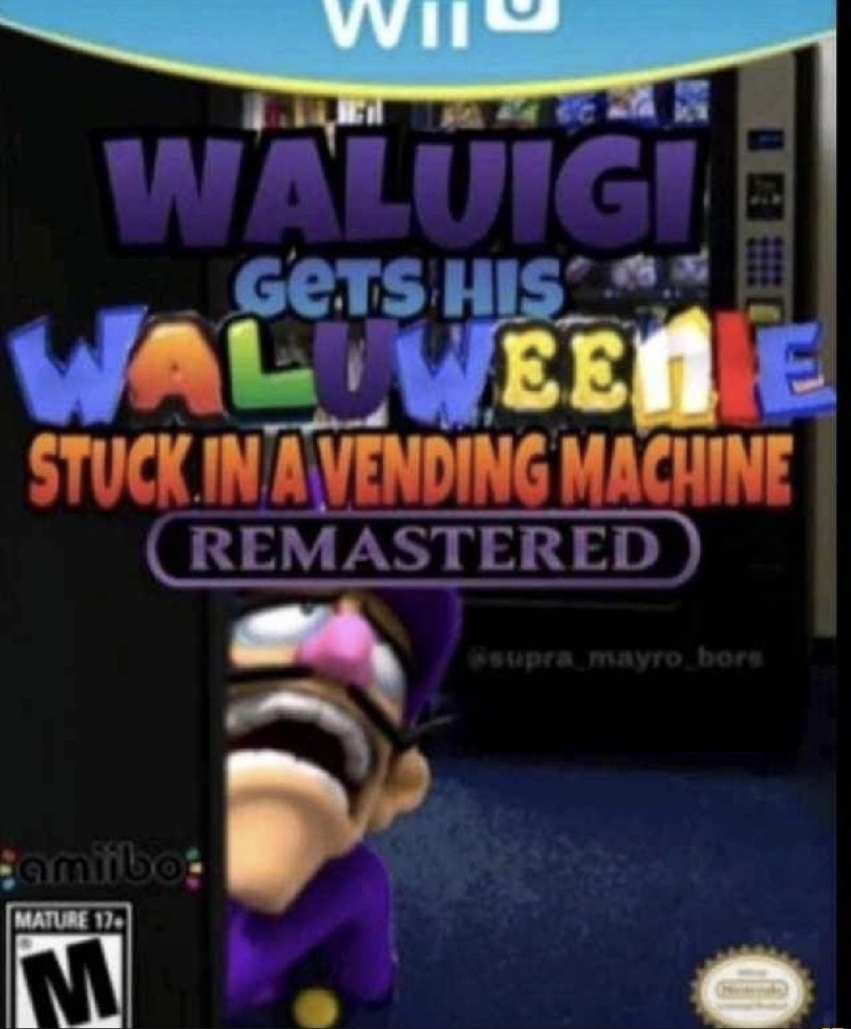 WAAAAAAAAAAAAAAAAAAAAAAAAA. .. So that's why Waluigi couldn't make it to Smash.