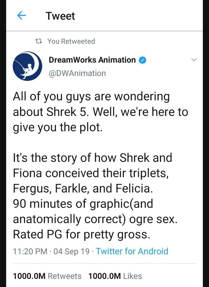 wait. .. >90 minutes of hardcore ogre sex >gross excuse me have you even SEEN the raimi spiderman trilogy?