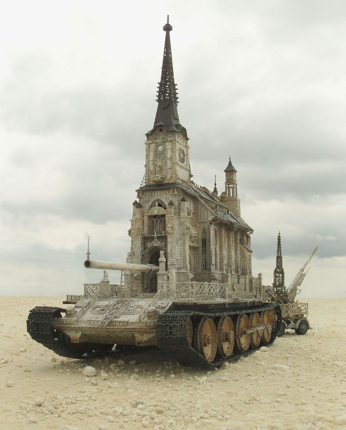Warhammer 40k Tank Design. .. Still looks more reasonable than some of the tanks in 40K to be honest.