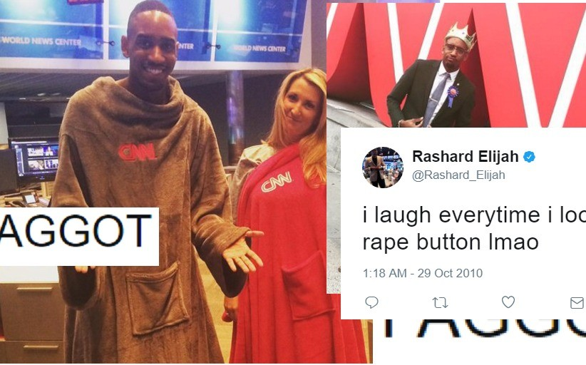 Weaponized Autists dig into CNN employee's past. https://.com/weaponized-autists-dig-cnn-employees-past-find-tweets-rape-anti-white-racism Weaponized Autists di