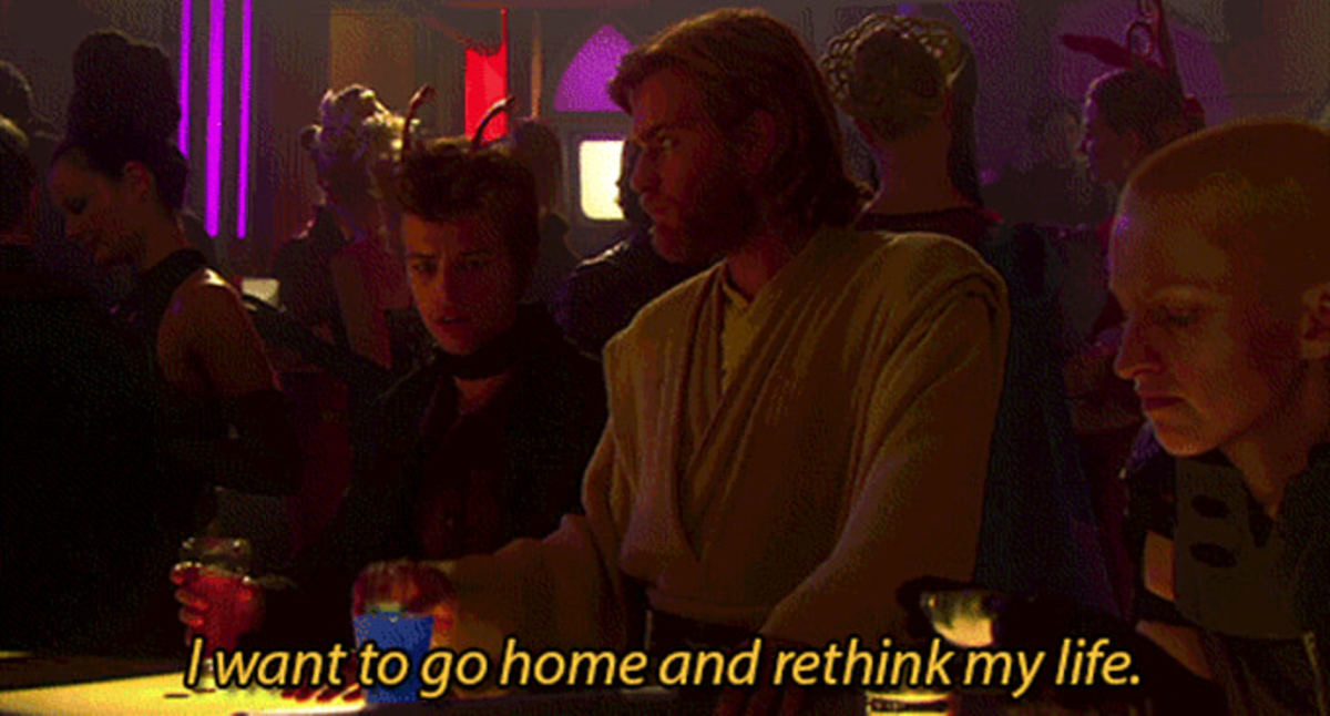 When You Realize You Haven't Made Any Prequel Quotes Into A Meme. .