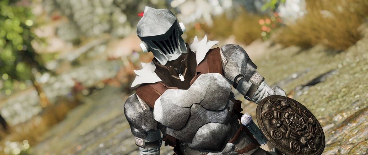 When you slay goblins even in Skyrim. https://www.nexusmods.com/skyrim/mods/95391.. But there are no goblins in Skyrim