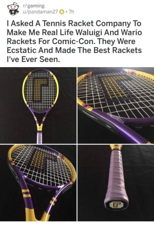 wholesome racket. .. they really handed him that L huh