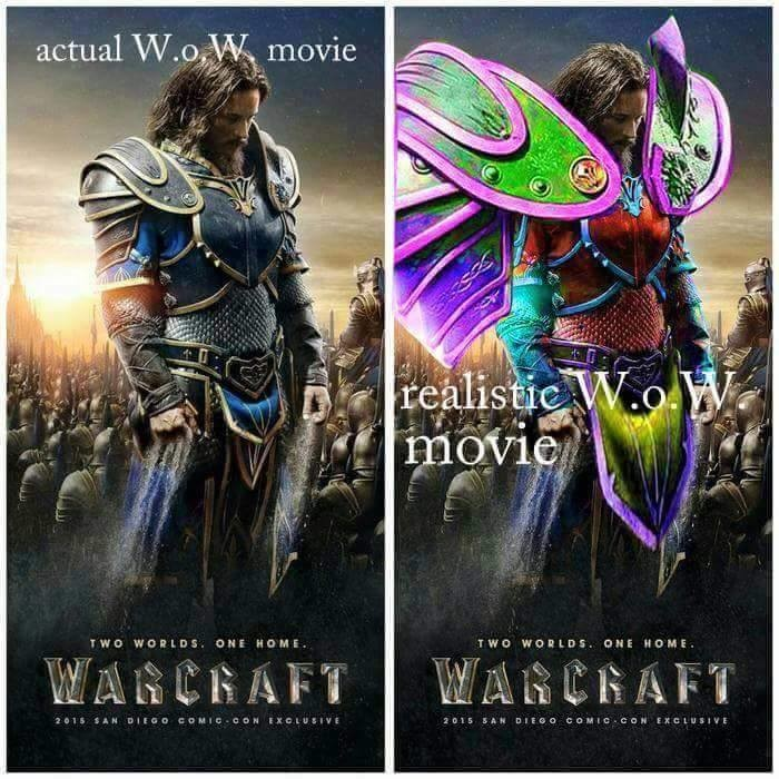 Wow movie. .. It's not based on WoW, it's based on Warcraft.