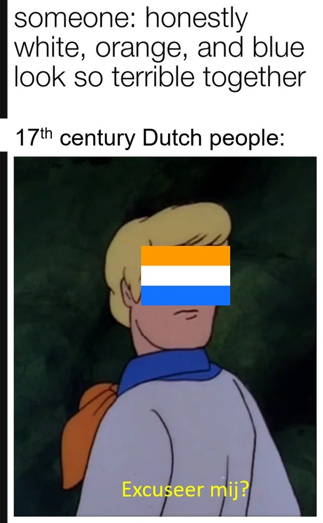 wow no u. .. Ah yes our golden age Fun fact: it was actually illegal to own slaves in the Dutch replublic Portugese and Spanish traders who resided here needed to release th