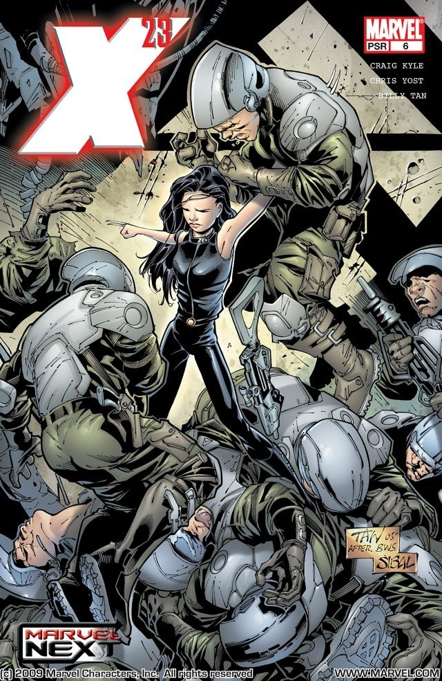 X-23 p6. Like and sub for more, the next part of the saga tomorrow! p1: p2: p3: p4: p5: p6:. Elim -1 R. -RIG KYLE MANWE. CEILIM. I was literally on the edge of my seat this entire series