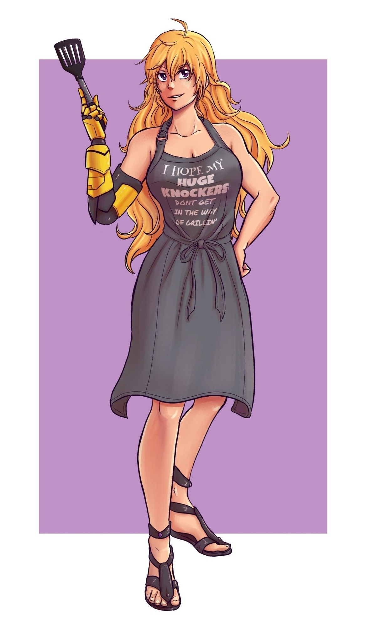 Yang. .. You will never have goldilocks tomboy waifu Why live