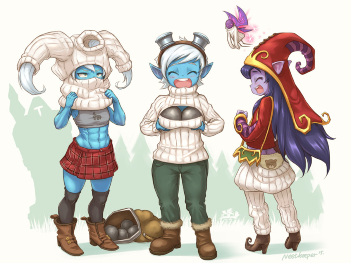 Yordle Virgin Killers. .. >Implying that there are yordles whom aren't virgin killers.