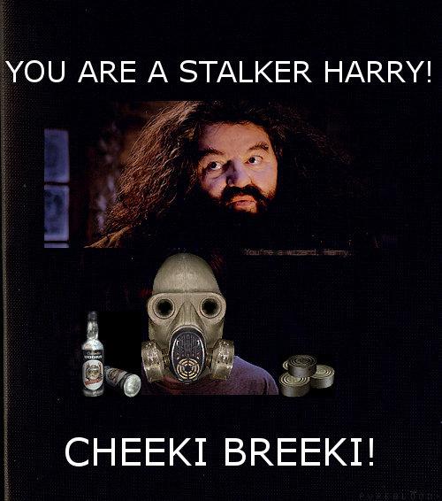 you are a stalker harry. cheeki breeki. Y' ARE A STALKER HARRY! CHEEKI BREEKI!