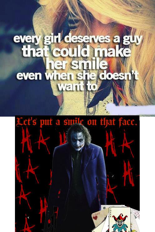 You Deserve to Smile. .