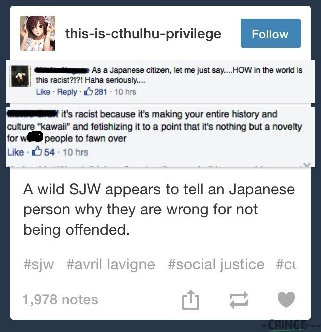"You gotta be offended.. . T "" a Japanese citizen, but minus: sawr.... HDW in in hand is racist because in making your entire history and nothing but a novelty f"