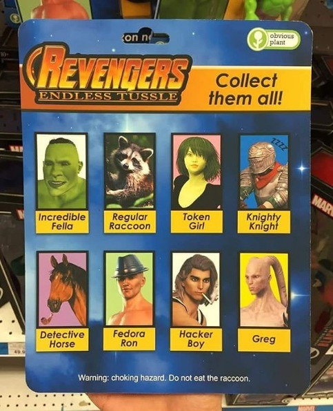 You heard of Avengers but have you heard of Revengers?. .. >Greg