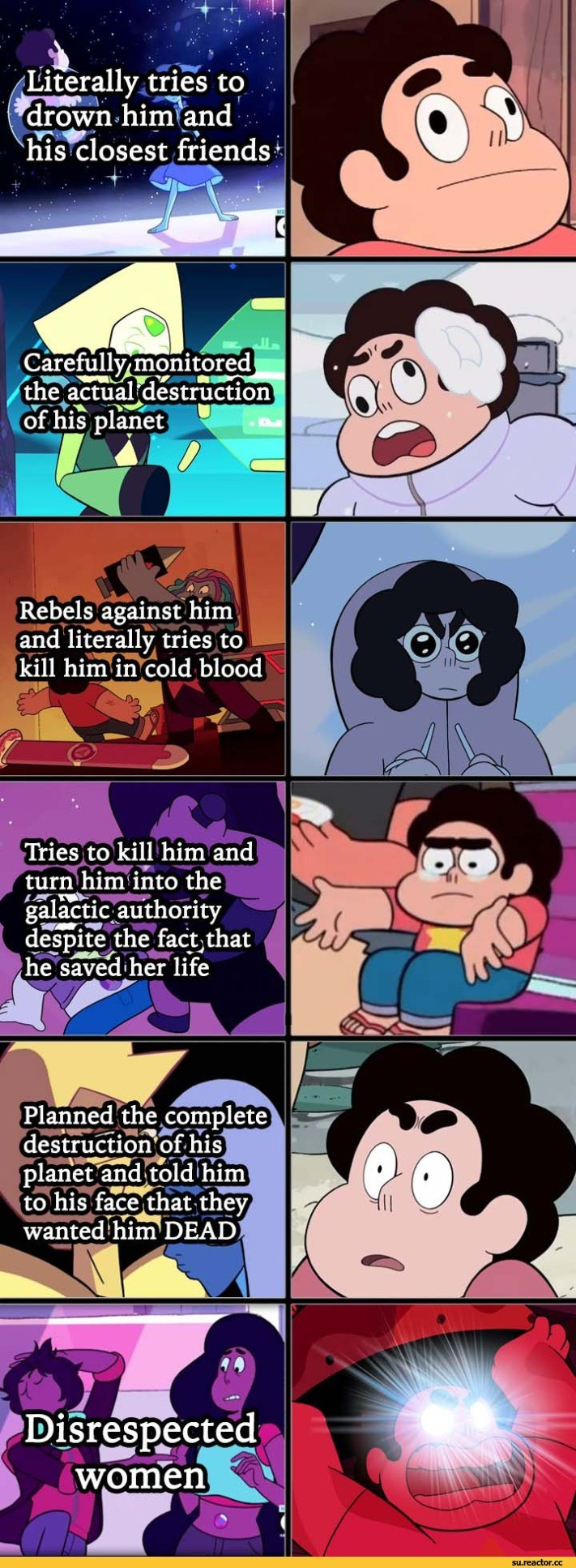 Ytyspemsa Vedredemo. . Litterally tries be _ friendss' Rebels ' irn and literally tries to Tries to kill him and turn the he Jif' lailii' i' life His. The aggression he has for Kevin is the type I'd expect to see in Lars, who is actually hostile to Steven. Who accidentally took over Lars' body and got off scot
