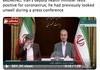 Iran Health Minister has C-Virus