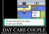 Pokemon day care meme.