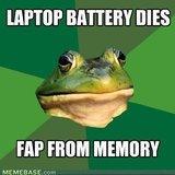 When Laptop dies