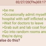 Anon plays a Prank