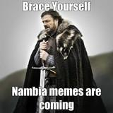 Covfefe is the capital of Nambia