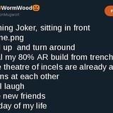 Joke's on him